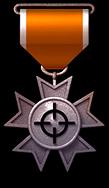 鐵鎖定勛章