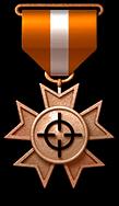 銅鎖定勛章