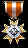 金锁定勋章