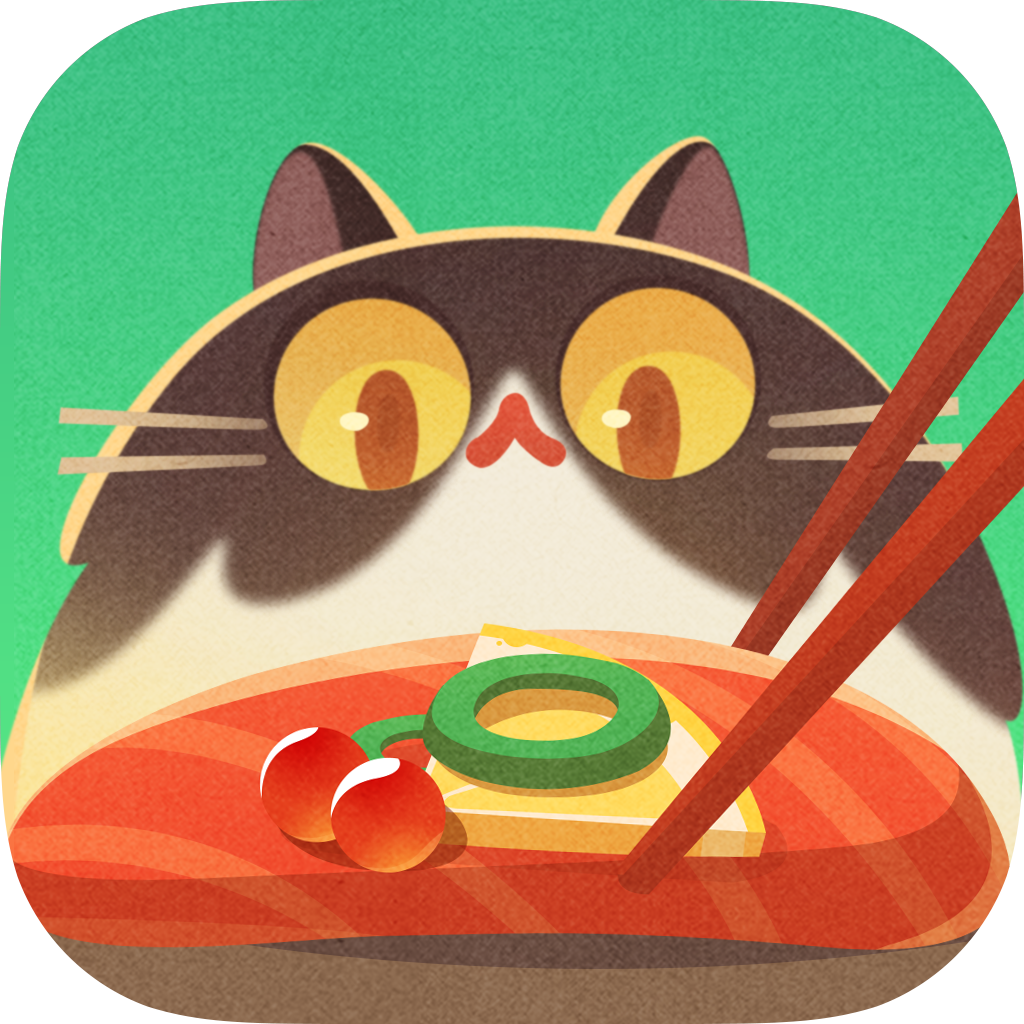 Stacking Sushi Cat